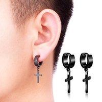Boucles d'oreilles en acier inoxydable de boucles d'oreilles en acier inoxydable