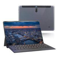 جهاز الكمبيوتر اللوحي 10 بوصة HD عرض الروبوت 3G الهاتف المحمول أجهزة الكمبيوتر اللوحية المزدوج بطاقة SIM مع لوحة مفاتيح قابل للفصل