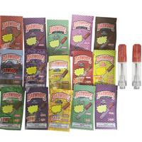 Dabwoods Vape Kartuş Ambalaj Atomizerleri Tek Kullanımlık Vapes Kalem 510 Seramik Kartuşları E Sigara Başlangıç Kitleri 0.8ml 1.0 ml Kalın Yağ Buharlaştırıcı Kalemler