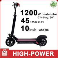 1200w Çift Motorlu Elektrik Kick Katlanabilir Scooter 10inch Lastik Max 45km 22Ah Akü Akıllı Scooter Yüksek Güç Kaykay e-scooter