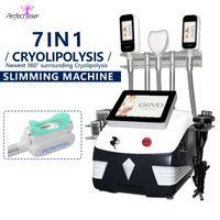 2021 휴대용 360 Cryolipolysis 지방 냉동 슬리밍 기계 더블 턱 제거 RF 초음파 Cavitation 체중 감량 Lipolaser 장치
