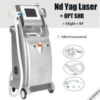 2021 Nueva SHR IPL máquina de eliminación de eliminación de tatuajes con láser YAG OPT Painfree pelo IPL Elight rejuvenecimiento de la piel del dispositivo de refrigeración de zafiro