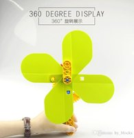 11pcs DIY children building blocks puzzle toy big particle blocks toy summer hand fan Assembling creative toys for kids early education
