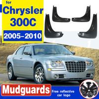Avant et arrière de voiture Bavette pour Chrysler 300C 300 C 2005 ~ 2010 Fender boue Splash Guard Rabats Garde-boue Accessoires 2006 2007 2008 2009