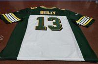 Benutzerdefinierte Männer Jugend Frauen Jahrgang Edmonton Eskimos # 13 Mike Reilly Fußball-Jersey-Größe s-5XL oder benutzerdefinierten beliebigen Namen oder Nummer Jersey