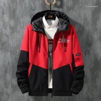 Brasão Tamanho Masculino Vestuário Mens Designer Jacket Autumn Carta inverno impressão Zipper Fly Jackets Além disso Casual