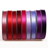 Decorar poliéster trenzadas cintas cintas coloridas del arte del color del embalaje del regalo del partido creativo de la boda eventos Artículos de bricolaje Accesorios VT1480
