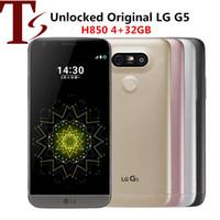 """Восстановленные оригинальные LG G5 H850 мобильные телефоны 5.3 """"Quad Core 4GB RAM 32GB ROM 16MP 4G LTE разблокированы Android смартфон"""