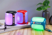 TG611 colorful light wireless mini bluetooth speaker outdoor...