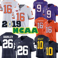 NCAA Penn State Nittany Lion 26 Saquon Barkley Alabama Crimson Tide 13 Tua Tagovailoa Michigan Wolverines 10 Tom Brady Travis Etienne Jr.