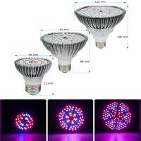 LED Grow Light Full Spectrum 30W 50W 80W E27 LED Phyto Lamp Fitolampy Bulb 28 40 78 120LEDs Plant Lamp For Flowers Seedings