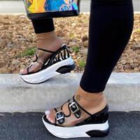 Летние сандалии женщин 2020 Женские сандалии платформы клинья обувь Очистить сандалии женщин тапочки Sandels Женский Sandalias