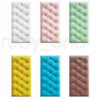 30 * 60cm XPE espuma PU pegatinas de pared bricolaje paneles de pared a prueba de agua para la habitación de los niños auto-adhesivo de la guardería pegatinas de pared Decoración RRA3488