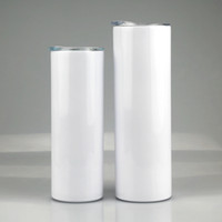 20oz 30oz Sublimation tapered Skinny Tumbler Stainless steel...
