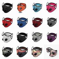 24 Stiller Bisiklet Toz geçirmez Yeniden kullanılabilir Nefes Güneş Koruyucu Fitness'i Maskesi Maske Doğa Sporları Binme Yüz Maskeleri CYZ2630 Malzemeleri