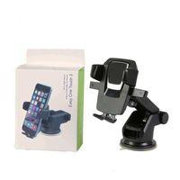 자동차 전화 홀더 마운트 360 iPhone 6 7 X Samsung L에 대 한 조정 가능한 손으로 무료 안티 슬립 마운트