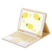 Adequado para iPad8 / iPad Air3 10.5 teclado sem fio 10.2 tablet caixa com slot caneta e rato livre