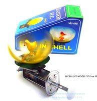 NB Tinplate Ретро Wind-Up Chicks Сороки Hatch От Eggshells, заводные игрушки, ностальгический орнамент, Kid Birthday Xmas Gift, Collect, MS637, 2-2