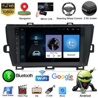 9 Inch 2 Din Capacitive 1024X600 FM USB Android Car Video Mp5 Gps Player Double Din In Dash Car Gps Navigation for TOYOTA PRUIS 2009-2013
