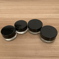 óleo espesso 3 ml 5ml Non-Stick vidro Caso Wax Container Dab Jar Dabber seco Herb Concentrado Creme Container Ecigs cigarro