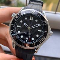 Cinturino in gomma posteriore moda uomo 42mm subacqueo Meccanico orologi automatici orologi movimento 300m orologi orologi orologi da polso MONTRE DE LUXE