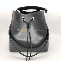 2020 Nova Mulher Estilo Moda Bucket Bolsas NeoNeo M54366Big Tamanho Designer Bolsas saco de ombro de couro real em estoque frete grátis