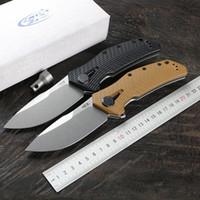 Verde rovo 0308 apertura rapida coltello pieghevole D2 lama lega di titanio + G10 maniglia lama di campeggio esterna della frutta strumento EDC coltello pratico