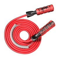 Braided Double Bearing Jump Ropes Adjustable Sport Lose Weig...