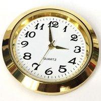 حركة 35MM البسيطة إدراج ساعة كوارتز الذهب معدن الفضة صالح حتى الساعة إدراج الرومانية Mumerals ساعة اكسسوارات بالجملة BH3513 DBC