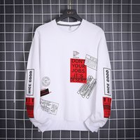 OLOME Hip Hop Hoodie Men Fashion Brand Outwear 2020 New Design Mens Streetwear Hoodies Sweatshirts Harajuku Top White Sweatshirt
