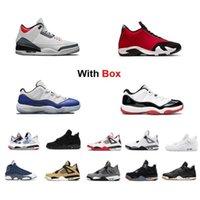 Nike Air Jordan Max Yeezy 2020 SE Fire Red Denim 14s Palestra Red Toro Uomo scarpe da basket 5 Rosso Fuoco 11 Low Concord Allevato con box Sneaker allenatore VWH