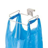 Gabinete de acero inoxidable de basura contenedores de basura bolsa del sostenedor del estante de reciclado de plástico reutilizable desechable tiendas de comestibles Bolsas para cocina