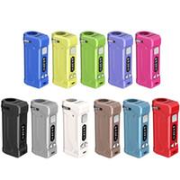 Autêntico YOCAN UNI Pro Vape Box Mod Kit 650mA Pré-aqueça Variável VV 2V-4.2V Pena de bateria ajusta todos os cartuchos