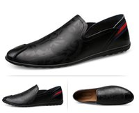 Mode Italian Style Hommes Chaussures formelles Nightclub mariage Casual Mocassins Mocassins Designer Shoes Big Taille