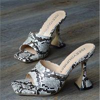 Estate Donne Pumps Piazza signore del tallone Mules Sexy Thin Tacchi alti pantofole dei sandali femminile Moda Donna ShoesMultifunction