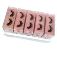 wholesale 3d mink false eyelashes 10 style fluffy wispy fake...