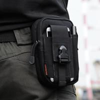 D30 Tactical Molle cintura Bolsas dos homens exterior Desporto cintura pack Casual Bolsa Phone Case Mobile para SAMSUNG Nota 2 3 4 1000D