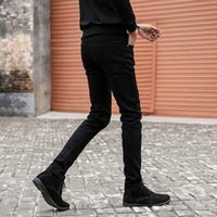 Mens Skinny New Classic Male Fashion Designer Elastic Straig...