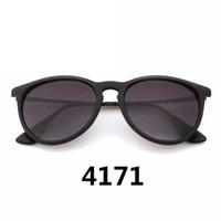 جودة عالية 4171 المرأة الفاخرة مصمم نظارات شمسية الاستقطاب عدسة الرجال uv400 نظارات زجاج نظارات شمسية متدرجة مع القضية