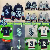 시애틀 크라켄 유니폼 32 회 새로운 팀 32 크라켄 (21) 크라켄 (22) 잭 레어 사용자 정의 모든 이름 숫자 하키 저지