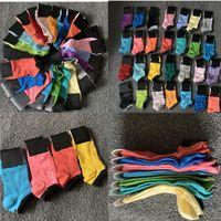 Cheerleaders calzini Buono Rosa Nero Blu Sport calzino corto ragazze calzini Women Cotton Sport Rosa Skateboard Sneaker calze con Tag