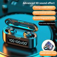 Bluetooth Mini plus récent double oreille Earbuds écouteurs sans fil ip8x TWS air Casques d'écoute avec micro pour dosettes IPhone x 8 7 plus portable Android