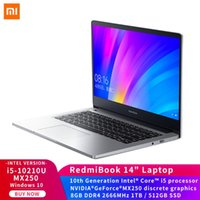 RedmiBook Laptop 14 inç Geliştirilmiş Versiyon -10210U MX250 8GB DDR4 1TB / 512GB SSD FHD tam ekran Windows 10 Notebook