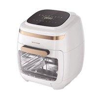 Visibile Air Fryer 11L Digital Air Fryer senza olio LCD Forno elettrico sano friggitrice Pizza Oven 2000W Smart Touch