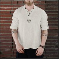 Fashionable Embroidery Pattern Blouse Clothes Men T- shirt Co...
