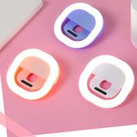 الشركة المصنعة للشحن فلاش LED الجمال ملء مصباح صورة شخصية في الهواء الطلق حلقة صورة شخصية قابلة لإعادة الشحن ضوء لجميع الهواتف النقالة شحن مجاني