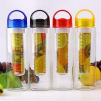 Çocuklar Yetişkinler Toptan İçin Meyve Suyu Şişeleri Su Kupa Limon Suyu Şişe Şişesi Şişeler Plastik Sport demlik Su Şişesi