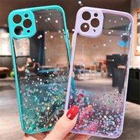Bling telefono Glitter morbido silicone per l'iPhone 11 pro max X max 6Plus 6SPlus 8 Inoltre telefono cellulare di copertura con il sacchetto del opp