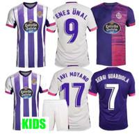 2020 2021 jersey de football du Real Valladolid 20 21 FEDE S. R. Alcaraz Guardiola Sergi Óscar Plano camisetas de futbol hommes + enfants FOOTBALL