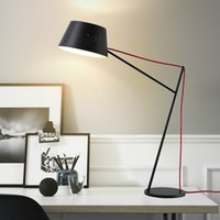 Wholesale cheap black metal steel desk light E14 7W for hotel foyer bedroom study bedside Energy saving table lamp